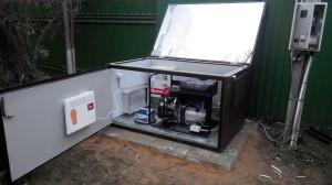 мини-контейнер для генератора