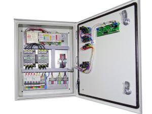 Блок АВР БУЭ-Pro для генератора изнутри