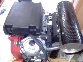 Привод заслонки Honda GX640