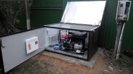 Мини контейнер и бензогенератор с автозапуском 10кВт