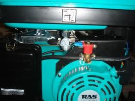 Привод заслонки и клапан RAS 420
