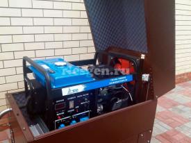 Мини контейнер для бензогенератора TSS SGG10000