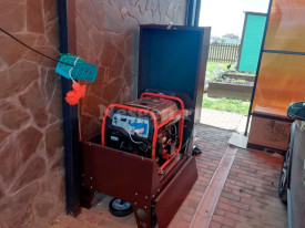 Генератор для дачи в мини контейнере