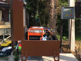 Генертор 6 кВт с автозапуском в мини контейнере