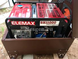 Генератор Elemax в мини контейнере