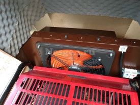 Кожух для генератора с вентиляцией