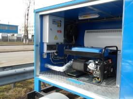 АВР с генератора в контейнере
