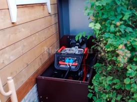 Всепогодный мини контейнер для генератора Zongsheng