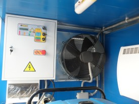 Блок АВР для генеретора  с вентиляцией в контейнере