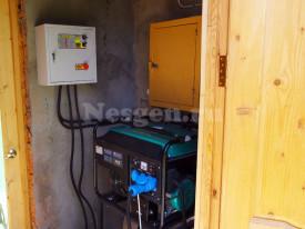 Генератор с автозапуском для дома 5 кВт