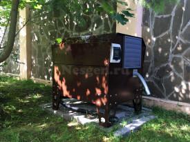 Укрытие для генератора с подогревом и вентиляцией