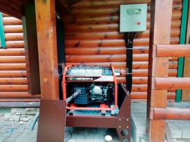 Всепогодный мини контейнер с подогревом для генератора Zongsheng