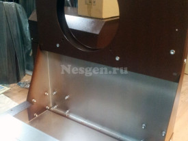 Кожух для генератора из оцинкованной стали