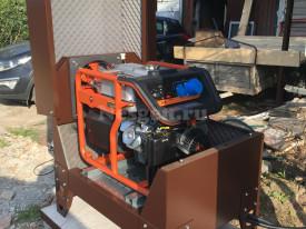 Шумозащитный кожух для генератора с подогревом для Mitsui ECO ZM7500