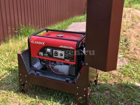 Уличный кожух для генератора Elemax SH7600